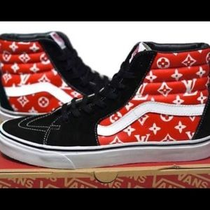 Louis Vuitton supreme vans like brand new